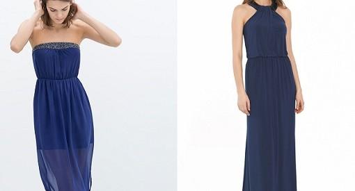 Vestidos de boda azules