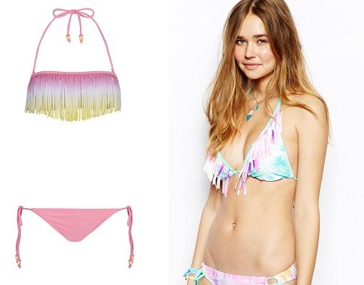 bikinis colores pastel