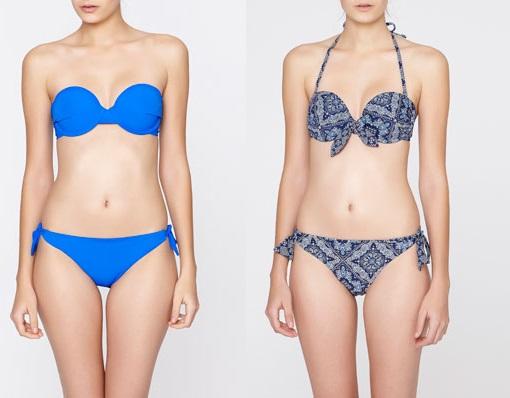 Bikinis Oysho push up 2014
