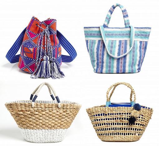 cestas y bolsos de playa 2014 oysho