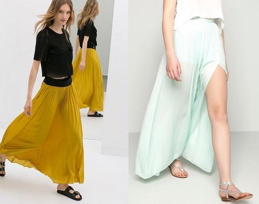Faldas largas verano 2014