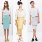 Las faldas de tubo para el verano 2014: Una de las novedades en ropa de moda