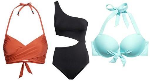 Moda baño de H&M 2014: Nuevos bikinis y bañadores con las tendencias de moda