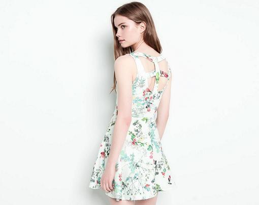0fae205cd Nuevas faldas y vestidos de Pull and Bear primavera verano 2014  de ...