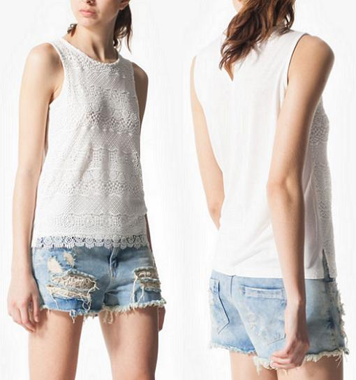 stradivarius tops crochet 2014