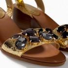 Tendencias de moda en sandalias para el verano 2014: De fiesta, plateadas, romanas, planas, doradas