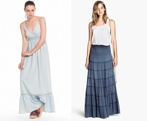 vestidos y faldas largos
