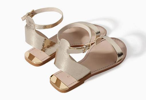 80e1f95056 Sandalias de Zara verano 2014: sandalias planas, plateadas, de fiesta,  cangrejeras,