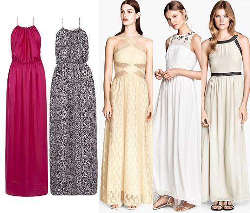 vestidos largos baratos 2014 blanco hym