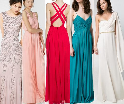 vestidos largos baratos 2014 mango