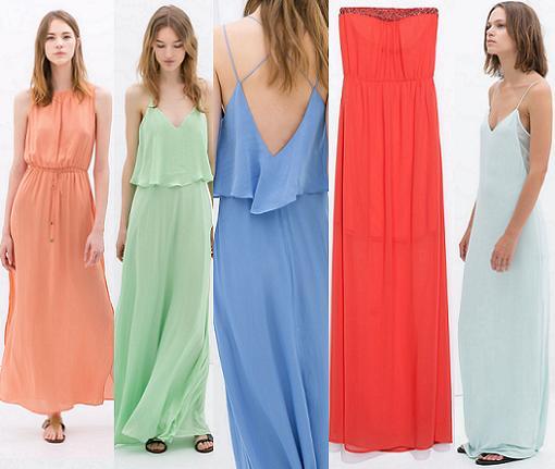vestidos largos baratos 2014 zara