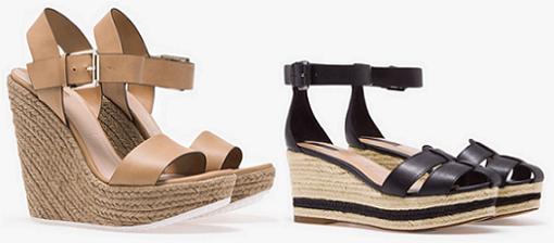 zapatos stradivarius cuña 2014