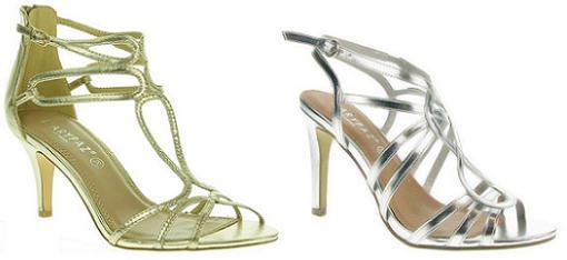 Verano Zapatos Dorados Tacon zapatos De Marypaz Marypaz Coleccion shCtQrd