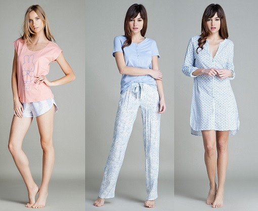 pijamas y camisones women secret