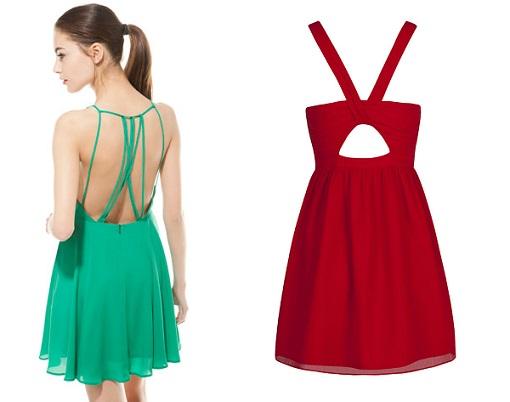vestidos de fiesta escote espalda