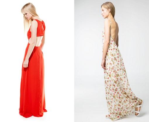 vestidos largos escote espalda