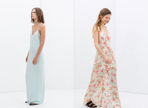 vestidos largos zara 2014