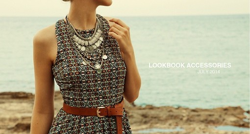 lookbook accesorios Stradivarius julio 2014