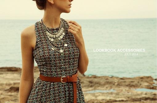 lookbook accesorios Stradivarius julio 2014