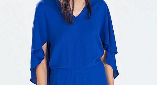 Nuevos vestidos y monos de vestir Zara otoño invierno 2014 2015