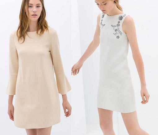 segundas rebajas 2014 zara vestidos