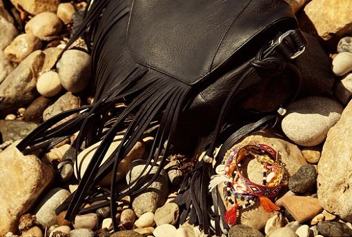 Stradivarius bolsos con flecos