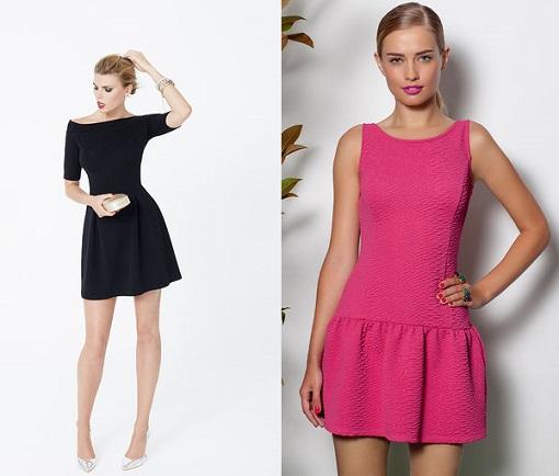Imagenes de vestidos lisos cortos