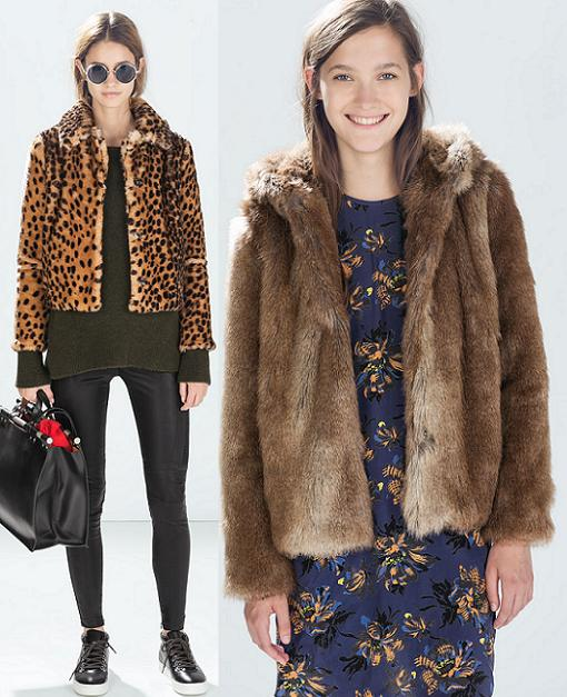 chaquetas de piel mujer zara 2014