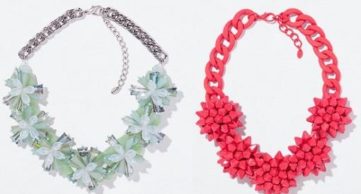 Los nuevos collares de Zara nos descubren las tendencias en bisutería para este otoño invierno 2014 2015
