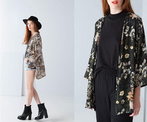 kimonos de bershka 2014