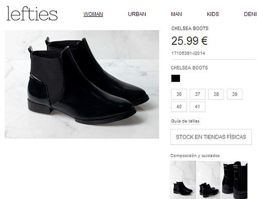 lefties online zapatos
