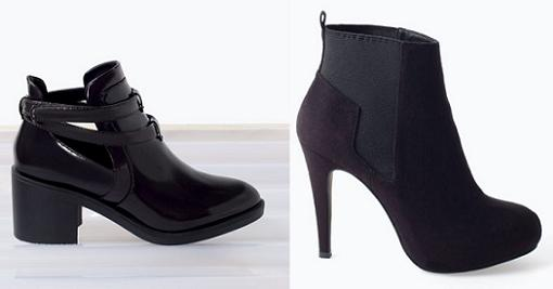lefties zapatos botines mujer