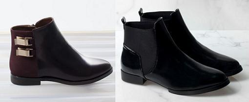 lefties zapatos botines