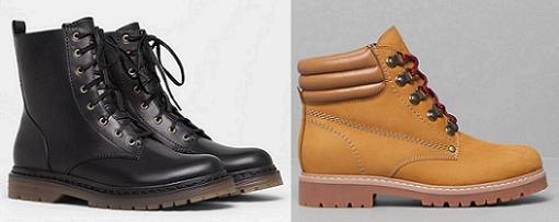 pull and bear zapatos botas de montaña