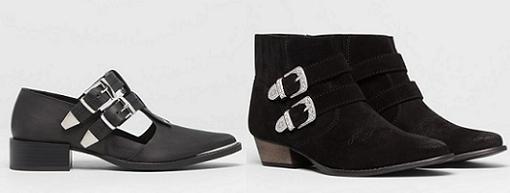 pull and bear zapatos de moda otoño invierno 2014 2015