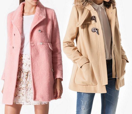 stradivarius ropa otoño invierno 2014 2015 abrigos