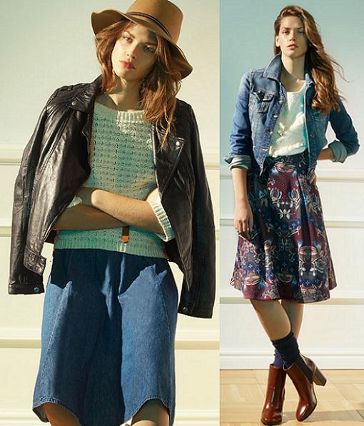 stradivarius ropa otoño invierno 2014 2015 moda