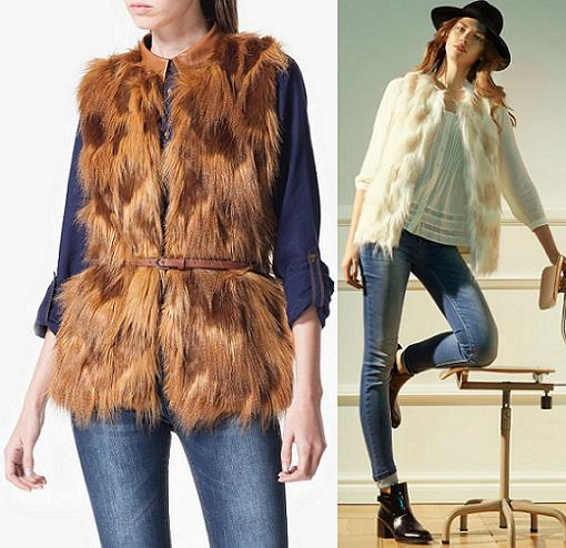 stradivarius ropa otoño invierno 2014 2015 pelo