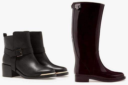 stradivarius zapatos otoño invierno 2014 2015 botas