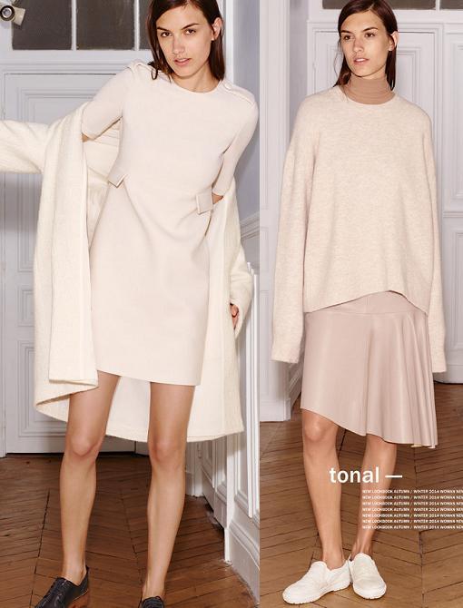 zara mujer vestidos otoño invierno 2014 2015