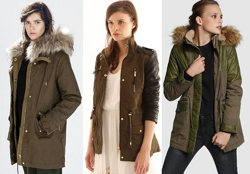 abrigos invierno 2015 parkas