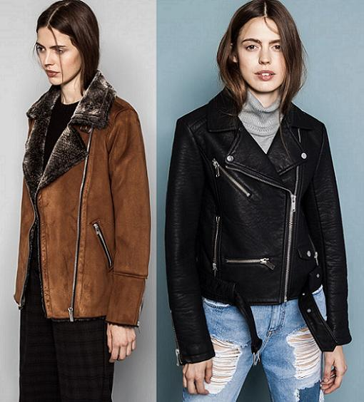 chaquetas pull and bear otoño invierno 2014 2015