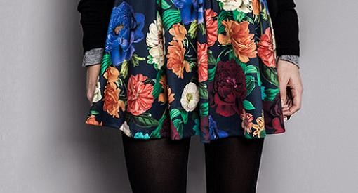 faldas vestidos pull and bear otoño invierno 2014 2015