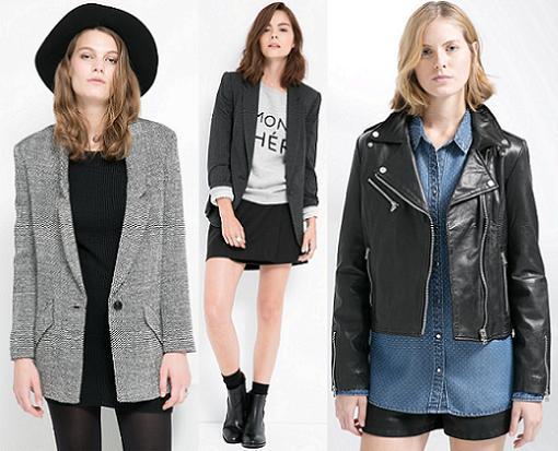 mango chaquetas otoño invierno 2014 2015
