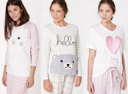 bd2118f53f Nuevos pijamas de Oysho del otoño invierno 2015  muy naif ...