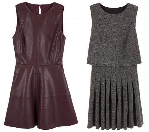 vestidos bershka moda otoño invierno 2014 2015