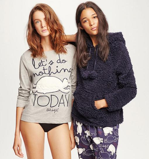 pijamas oysho mr wonderful invierno 2015