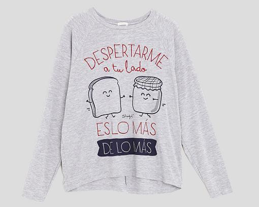 pijamas oysho mr wonderful