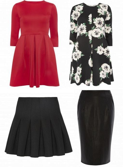 primark otoño 2014 vestidos faldas