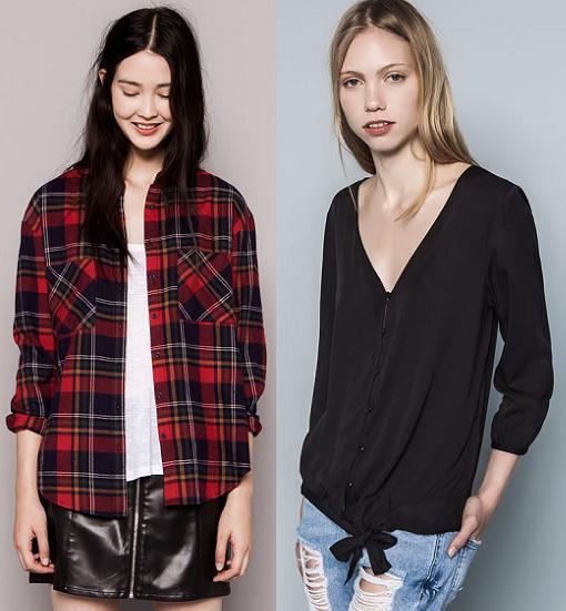 pull and bear camisetas otoño invierno 2014